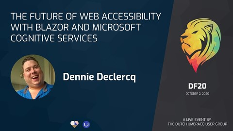 The future of web accessibility with Blazor and Microsoft cognitive Services